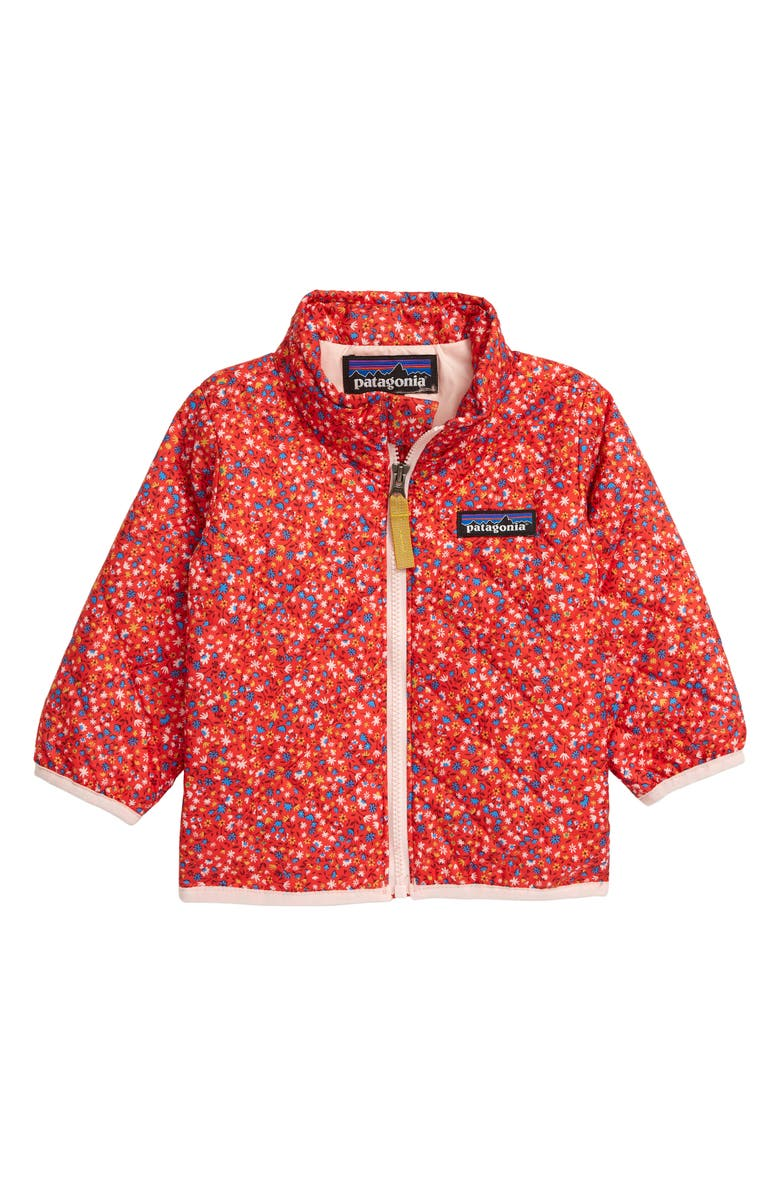 PATAGONIA Nano Puff<sup>®</sup> Quilted Water Resistant Jacket, Main, color, BARN DANCE MULTI CATALAN CORAL