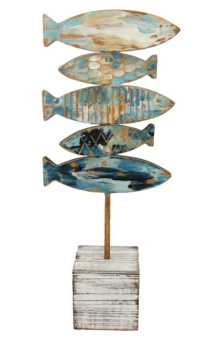 FORESIDE Fish Table Art, Main, color, 400