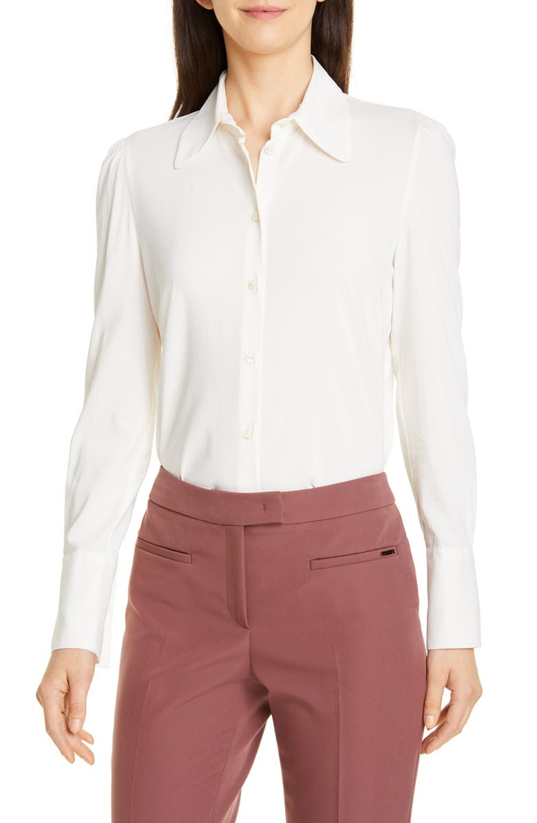 SEVENTY VENEZIA Seventy Stretch Blouse, Main, color, 104