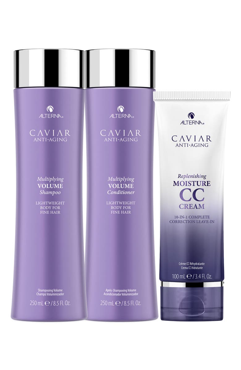 ALTERNA<SUP>®</SUP> ALTERNA CAVIAR Anti-Aging Multiplying Volume Holiday Kit, Main, color, No Color