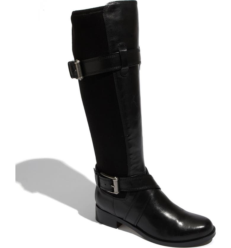COLE HAAN 'Air Whitley' Buckle Strap Boot, Main, color, Black