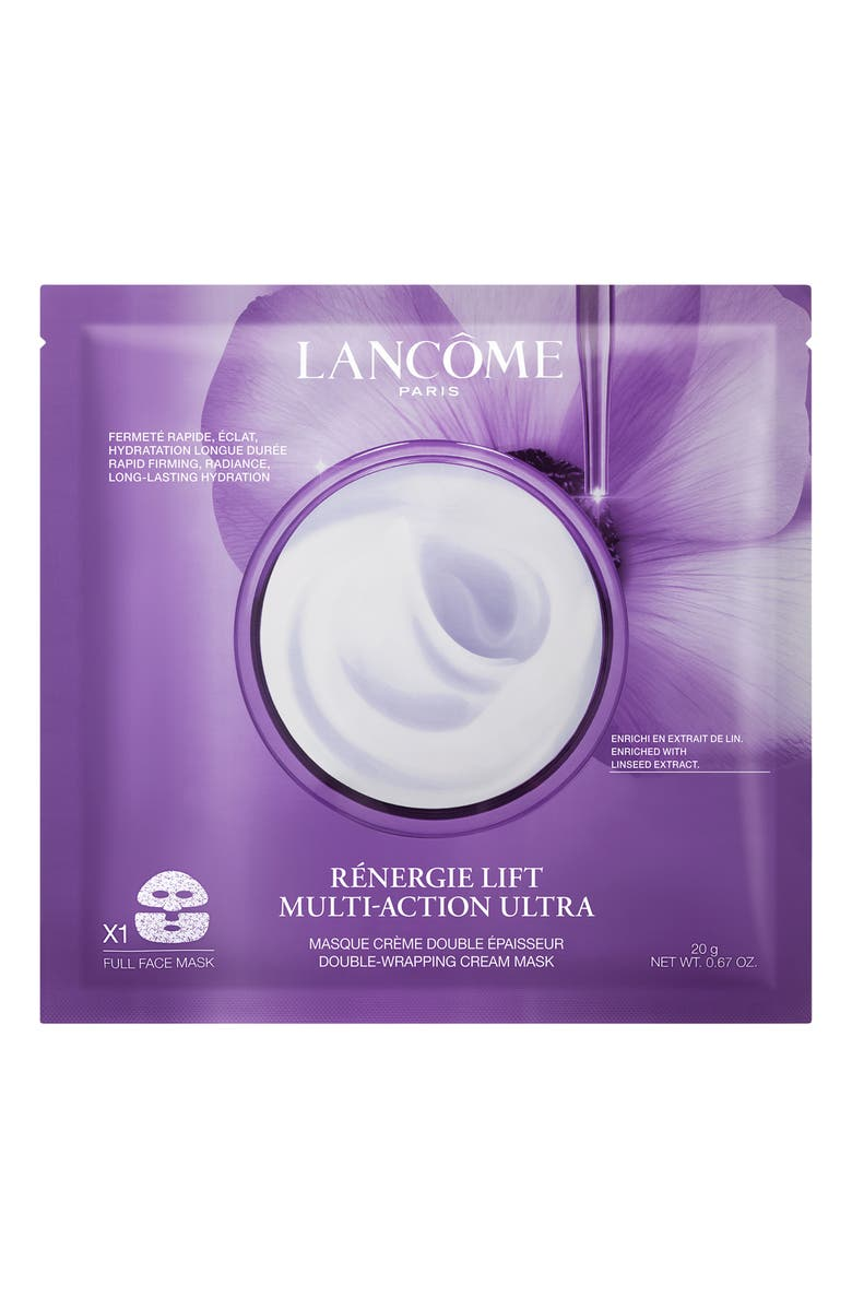 LANCÔME Rènergie Lift Multi-Action Ultra Double-Wrapping Cream Face Mask, Main, color, NO COLOR