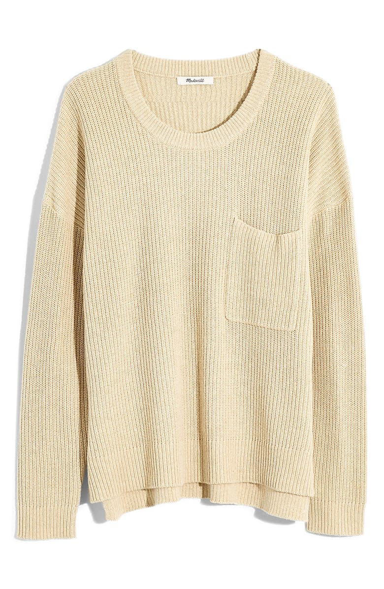 MADEWELL Thompson Pocket Pullover Sweater, Main, color, 250