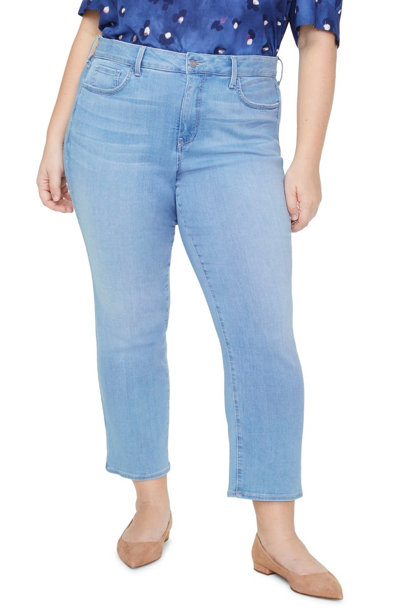 NYDJ Marilyn Ankle Straight Leg Jeans, Main, color, TROPICALE