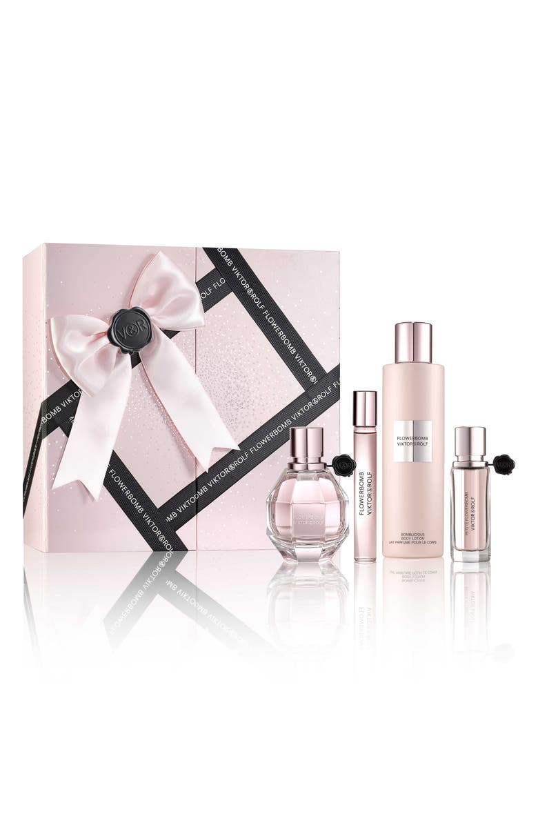 VIKTOR&ROLF Flowerbomb Four-Piece Luxury Set, Main, color, 000