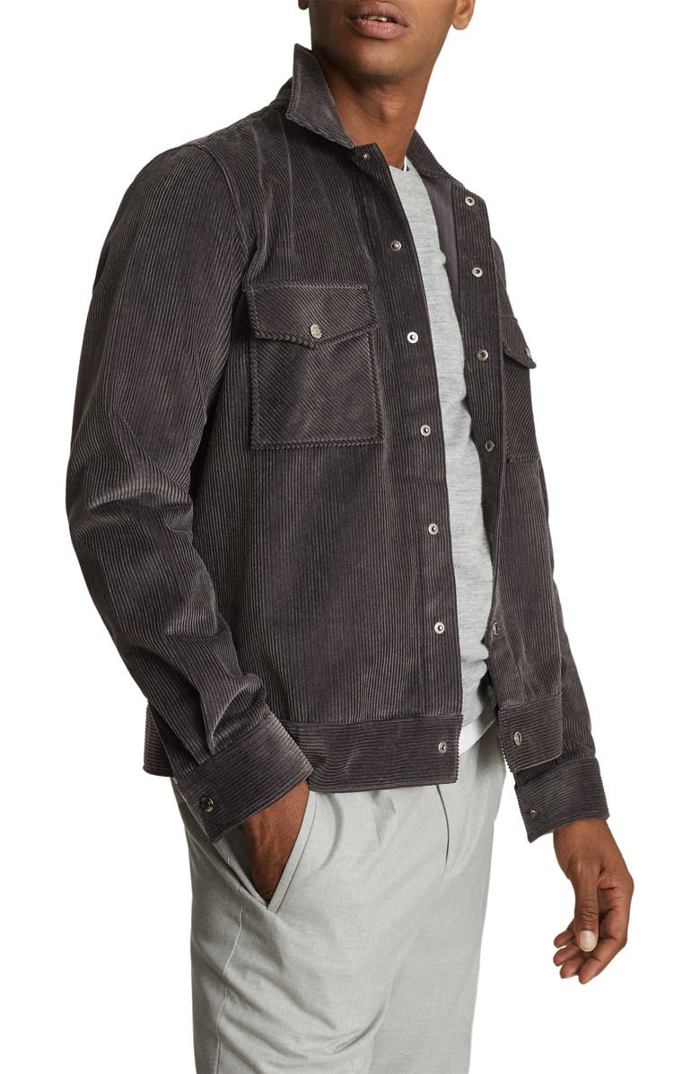 REISS Maddis Corduroy Jacket, Main, color, 020