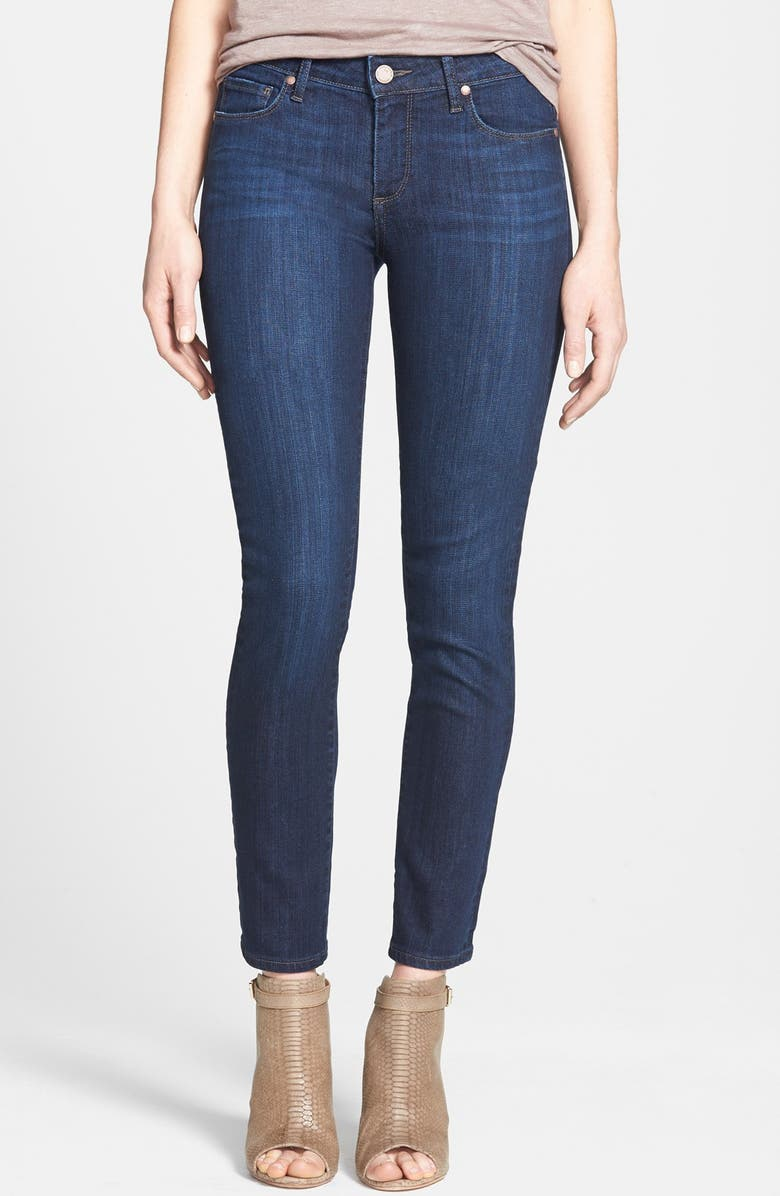PAIGE Denim 'Skyline' Ankle Peg Skinny Jeans, Main, color, 400