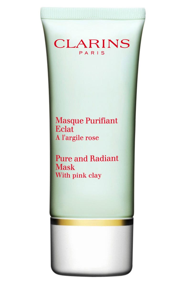 CLARINS Truly Matte Pure & Radiant Mask, Main, color, 000