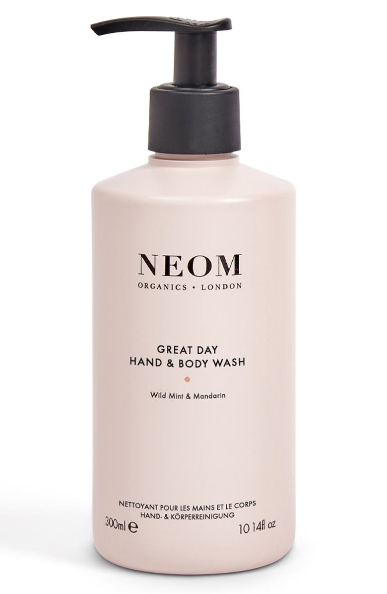 NEOM Great Day Hand & Body Wash, Main, color, NO COLOR
