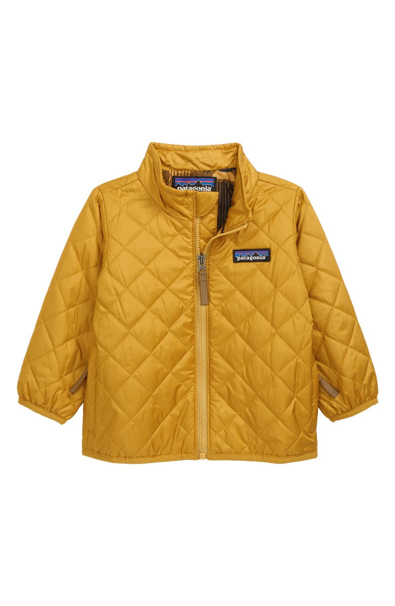 PATAGONIA Nano Puff<sup>®</sup> Quilted Water Resistant Jacket, Main, color, BUCKWHEAT GOLD