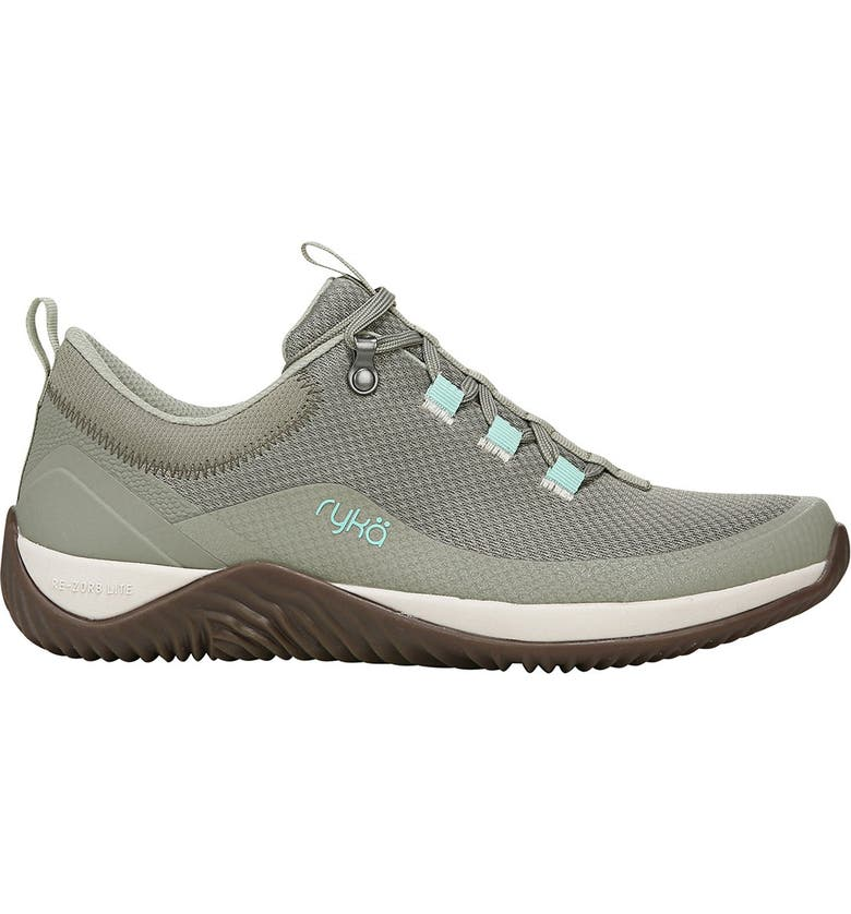 RYKA Echo Mesh Lace-Up Sneaker - Wide Widths Available, Main, color, VETIVIER GREEN