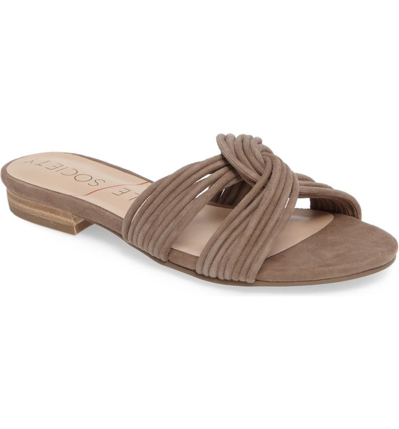 SOLE SOCIETY Dahlia Flat Sandal, Main, color, 240