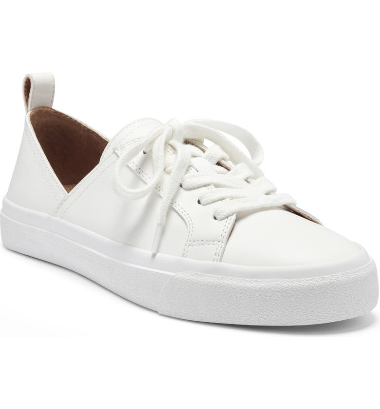 LUCKY BRAND Dansbey Sneaker, Main, color, WHITE LEATHER