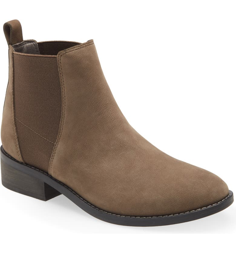 EILEEN FISHER Blink Chelsea Boot, Main, color, CEMENT
