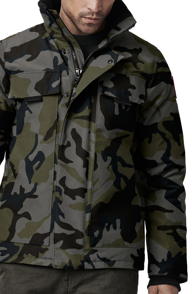 CANADA GOOSE Forester Trim Fit 625 Fill Power Down Jacket, Main, color, 020