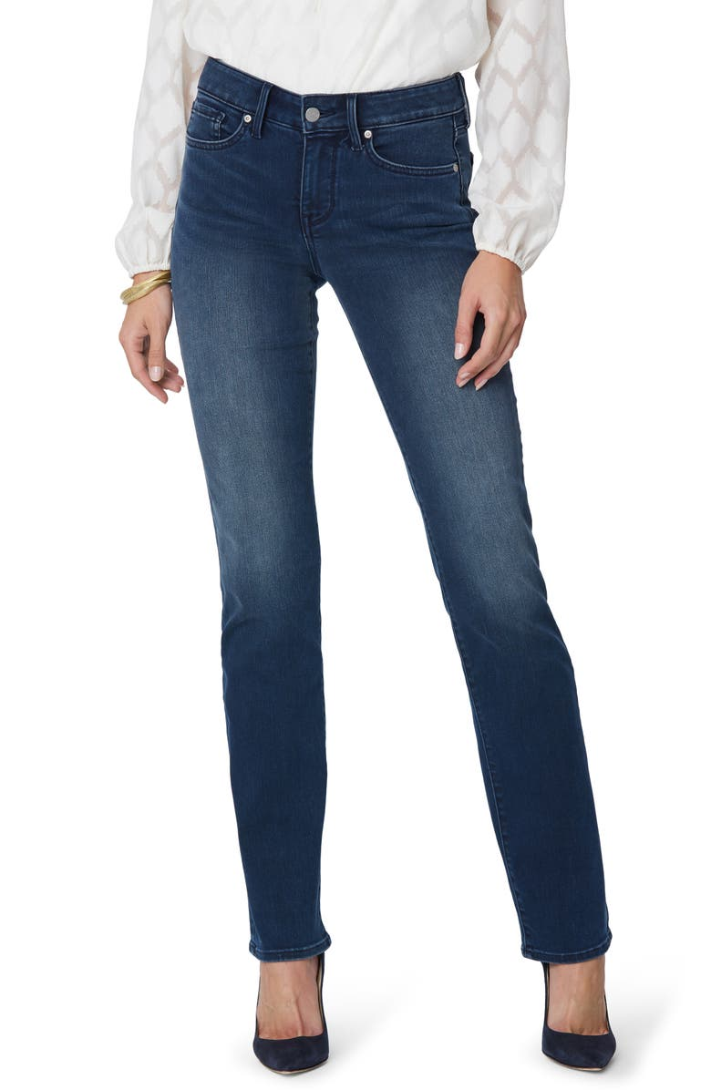 NYDJ Marilyn Straight Leg Jeans, Main, color, PILAR