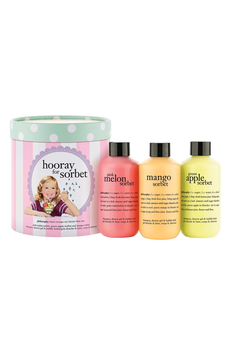 PHILOSOPHY 'hooray for sorbet' collection, Main, color, No Color