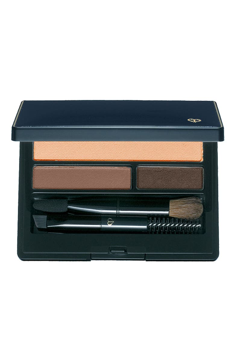 CLÉ DE PEAU BEAUTÉ Eyebrow & Eyeliner Compact, Main, color, 1