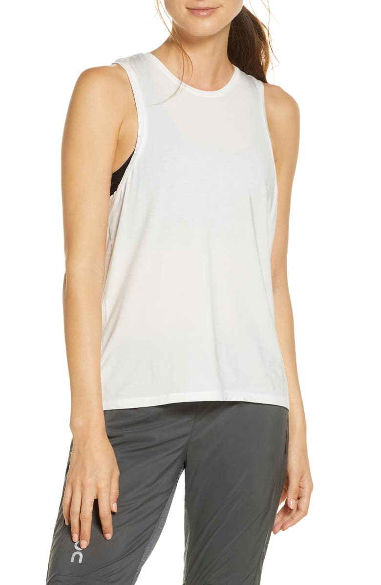 ON Active-T Running Tank, Main, color, WHITE