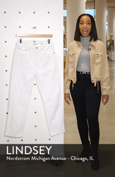 Originals High Waist Stove Pipe Jeans, sales video thumbnail