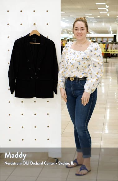 Faux Double Breasted Blazer, sales video thumbnail