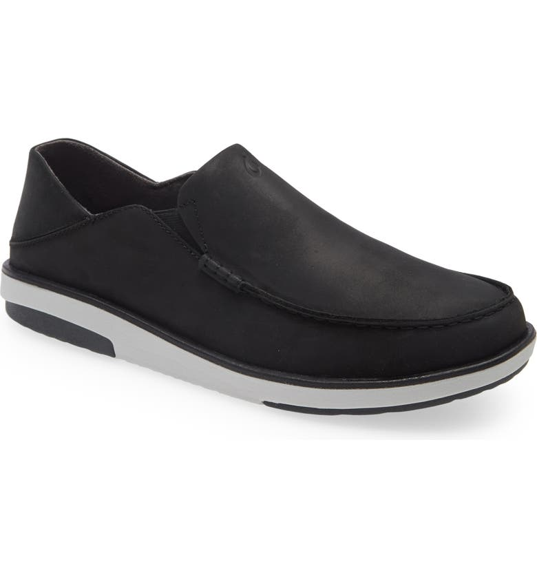 OLUKAI Kalia Slip-On, Main, color, BLACK