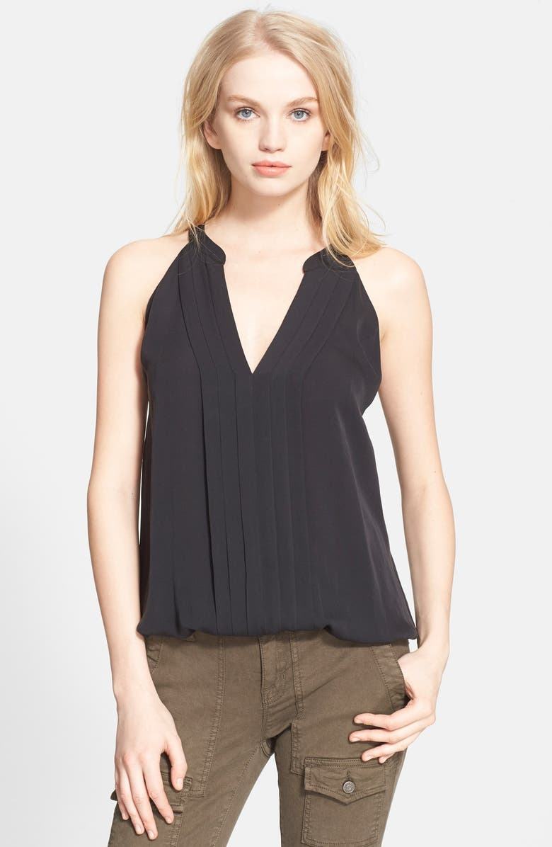 JOIE 'Narrie' Silk Shell, Main, color, 002
