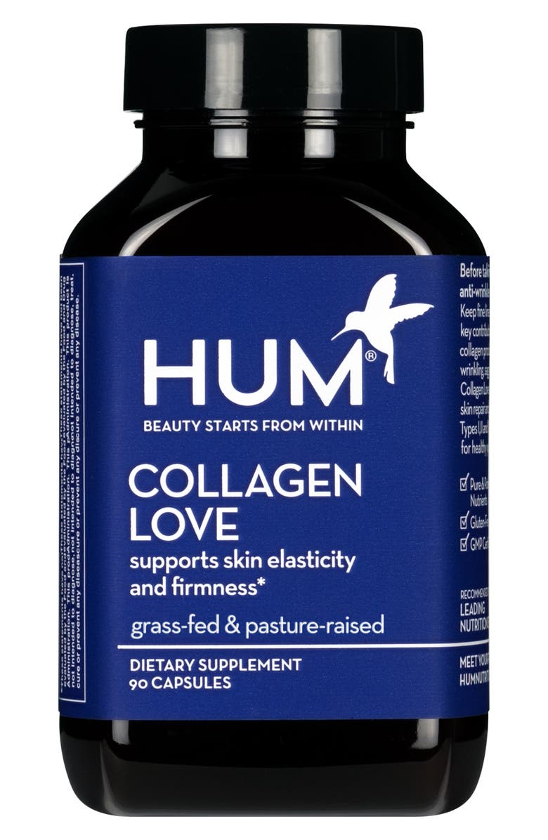 HUM NUTRITION Collagen Love Skin Firming Dietary Supplement, Main, color, NO COLOR