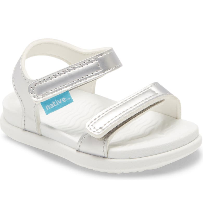 NATIVE SHOES Charley Metallic Water Friendly Sandal, Main, color, 040