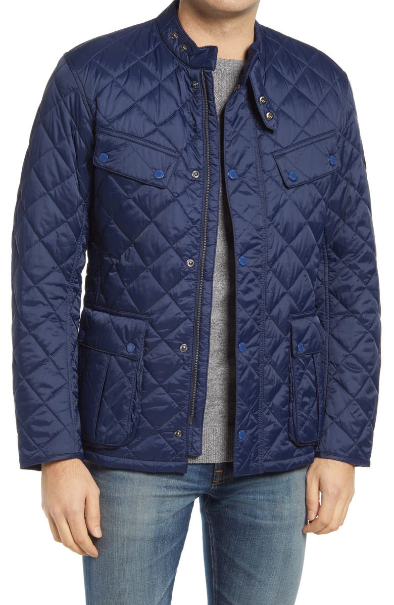 BARBOUR Ariel Quilted Jacket, Main, color, 410