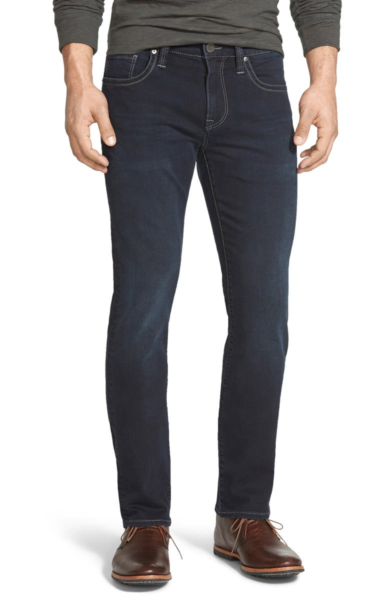 34 HERITAGE Courage Straight Leg Jeans, Main, color, MIDNIGHT AUSTIN
