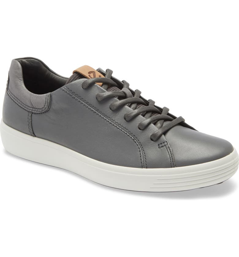 ECCO Soft 7 Sneaker, Main, color, DARK SHADOW/ MAGNET/ MAGNET