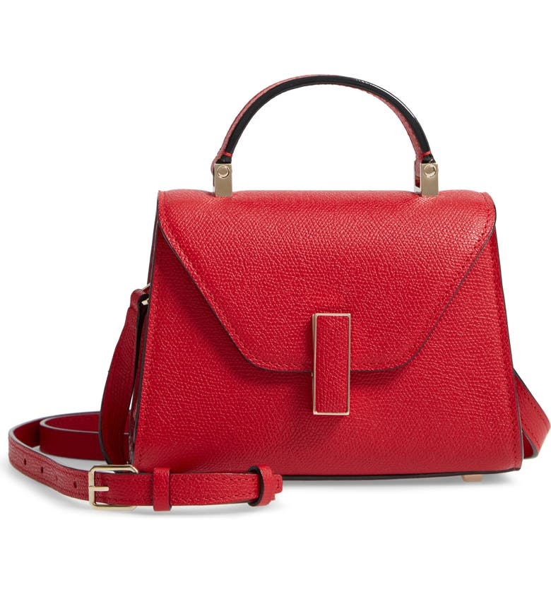 VALEXTRA Iside Micro Top Handle Bag, Main, color, 600