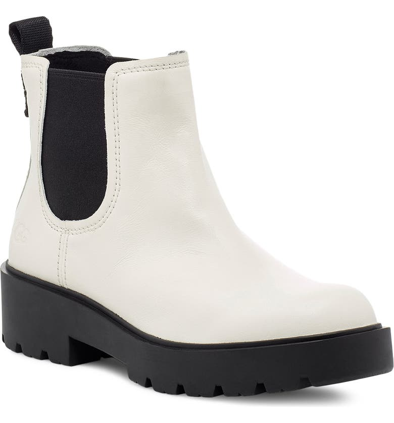UGG<SUP>®</SUP> Markstrum Waterproof Chelsea Boot, Main, color, JASMINE LEATHER