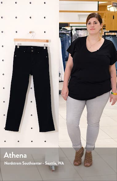 Butter High Waist Ankle Straight Leg Jeans, sales video thumbnail