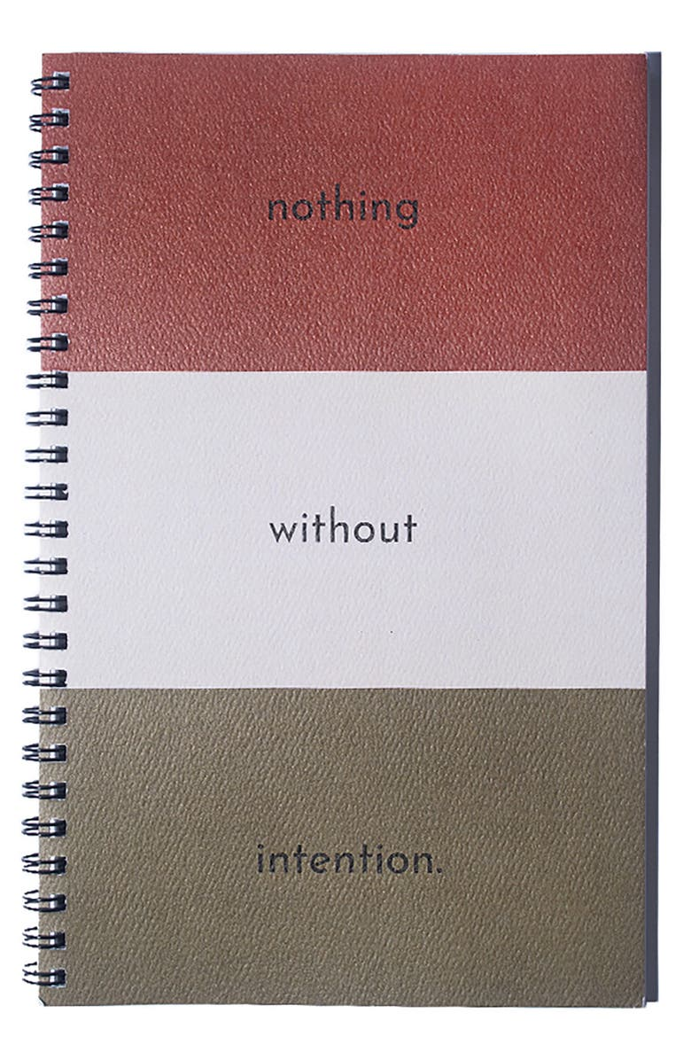 AYA PAPER CO. Package Free x AYA PAPER CO. Intention Journal, Main, color, LINED
