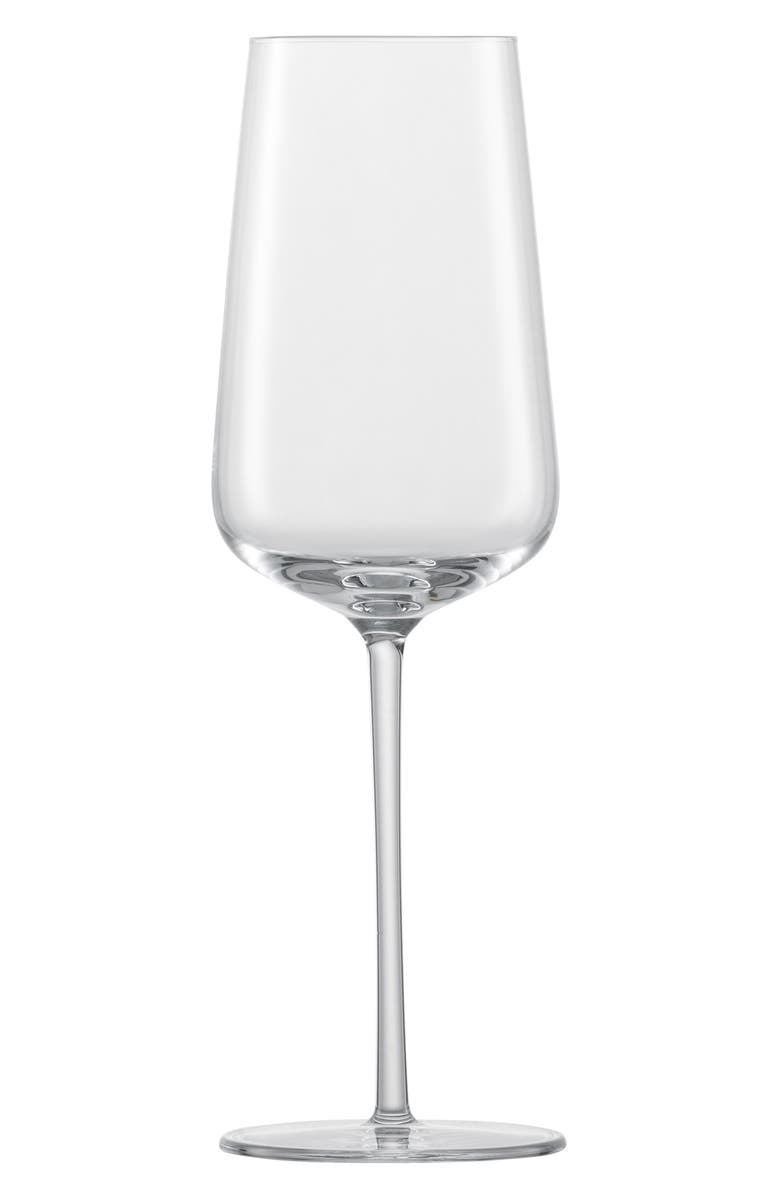 SCHOTT ZWIESEL Vervino Set of 6 Champagne Glasses, Main, color, CLEAR