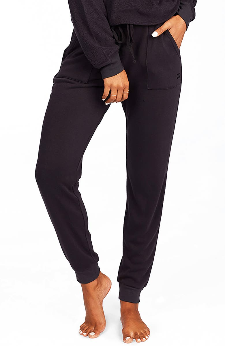 BILLABONG Stay in Sweatpants, Main, color, OFF BLACK