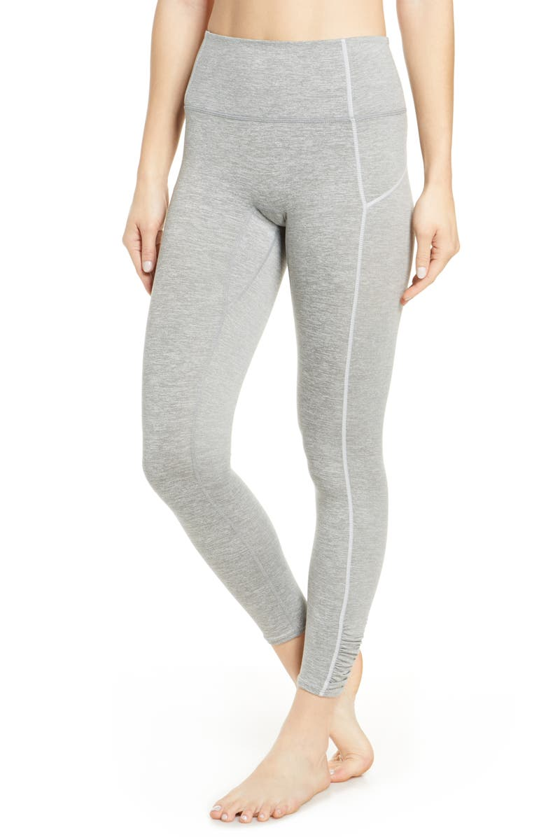 FREE PEOPLE FP MOVEMENT You're a Peach Leggings, Main, color, GREY COMBO