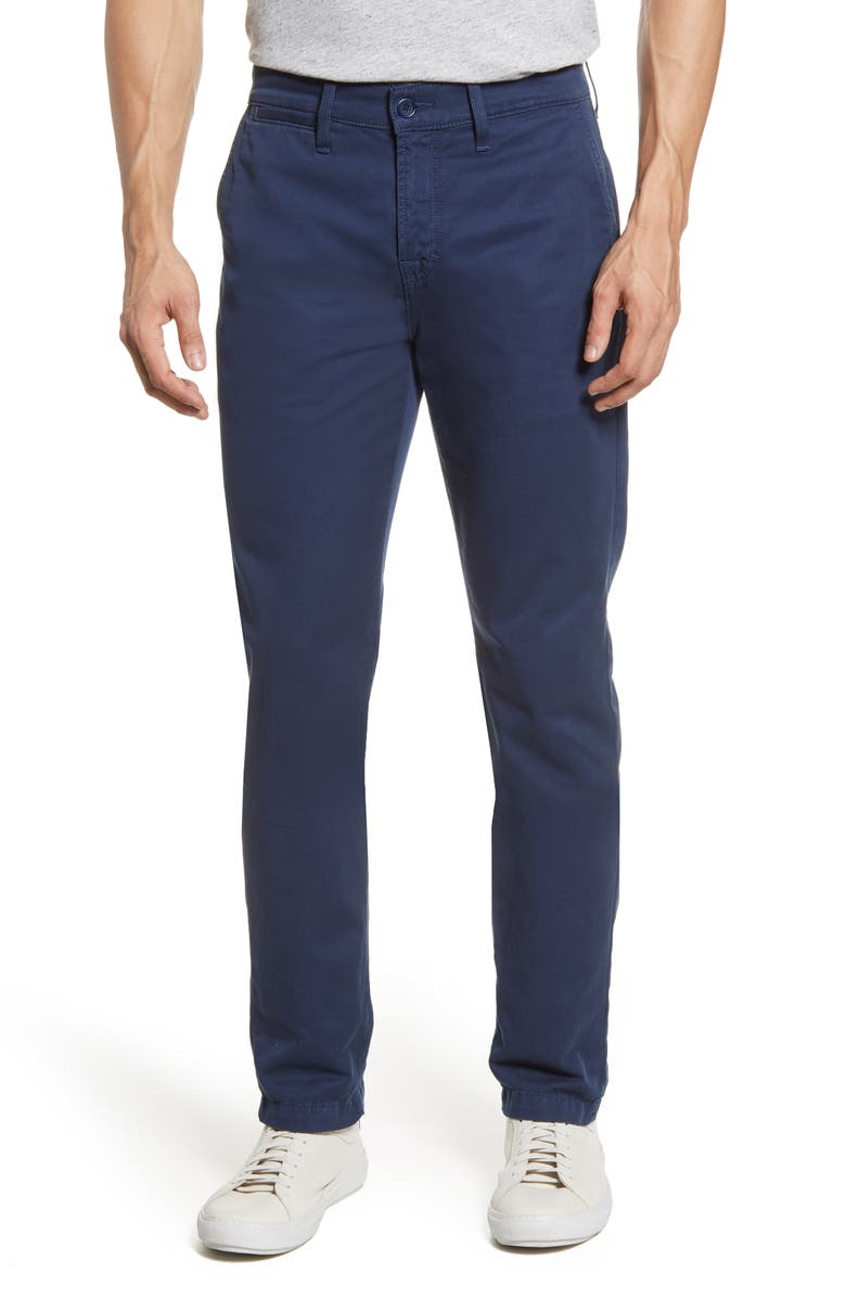 7 FOR ALL MANKIND<SUP>®</SUP> Go-To Chino Pants, Main, color, NAVY
