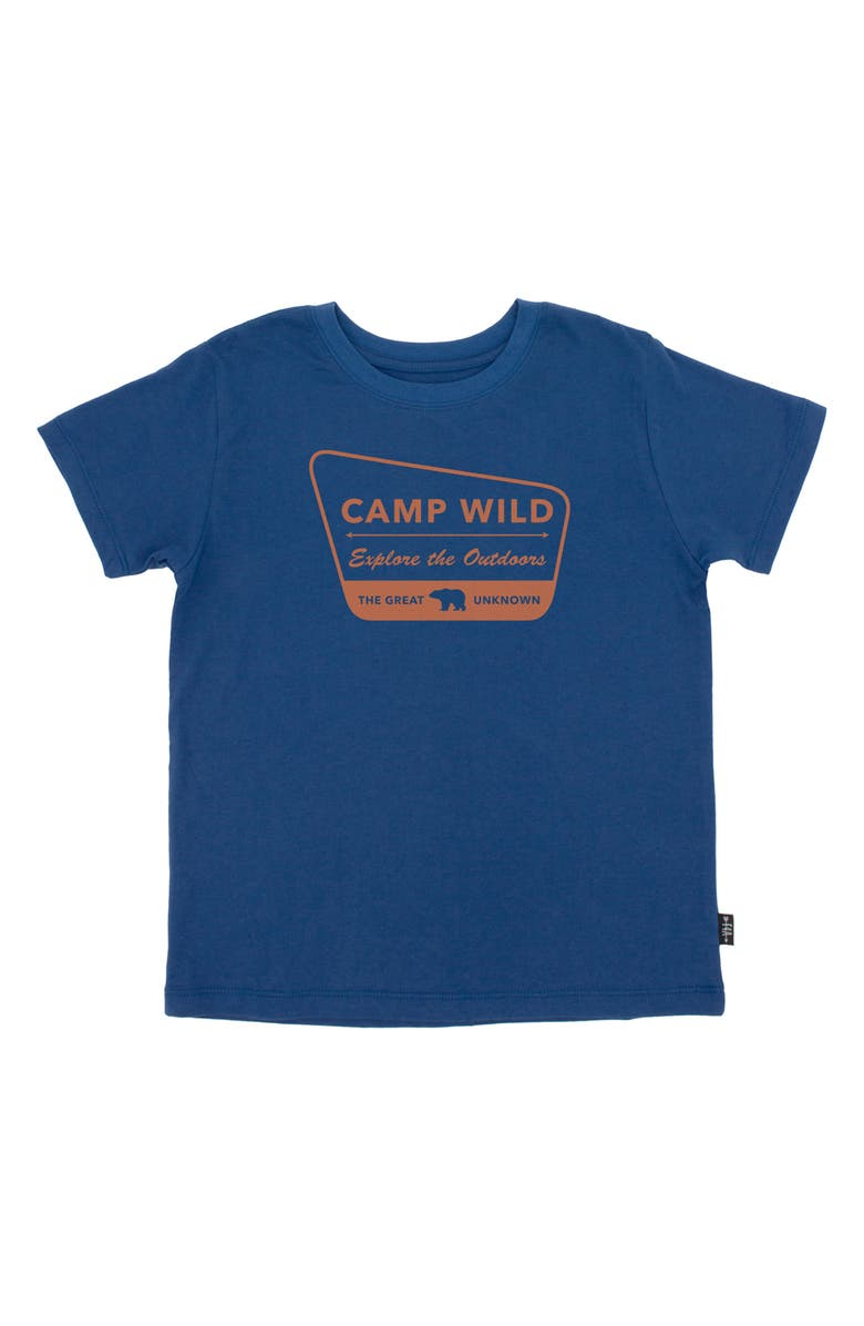 FEATHER 4 ARROW Kids' Camp Wild Graphic Tee, Main, color, 415