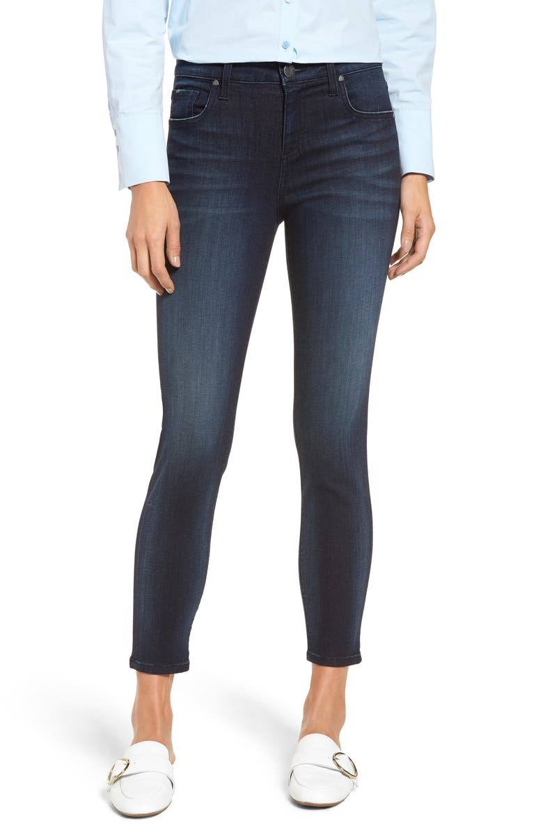 KUT FROM THE KLOTH Donna High Waist Skinny Ankle Jeans, Main, color, FORMIDABLE