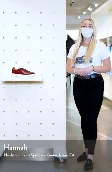 Fede Perforated Sneaker, sales video thumbnail