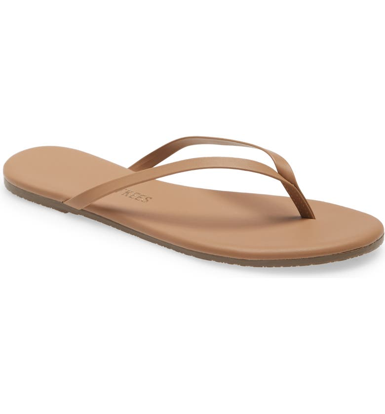TKEES Foundations Matte Flip Flop, Main, color, BEACH BUM