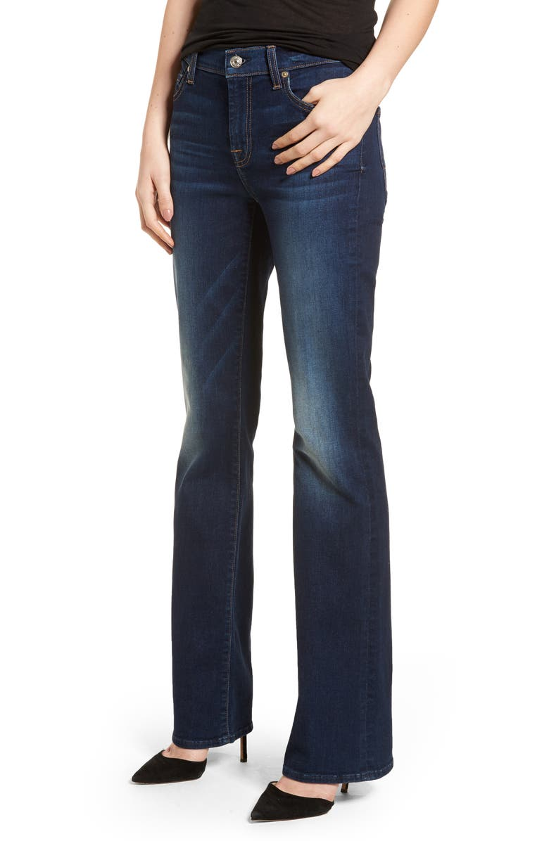 7 FOR ALL MANKIND<SUP>®</SUP> b(air) Tailorless Iconic Bootcut Jeans, Main, color, 400