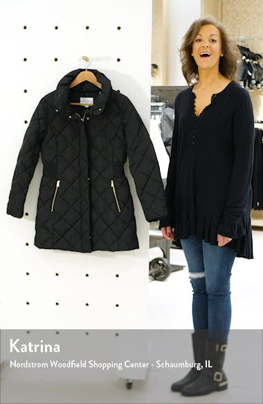 Quilted Down & Feather Coat, sales video thumbnail