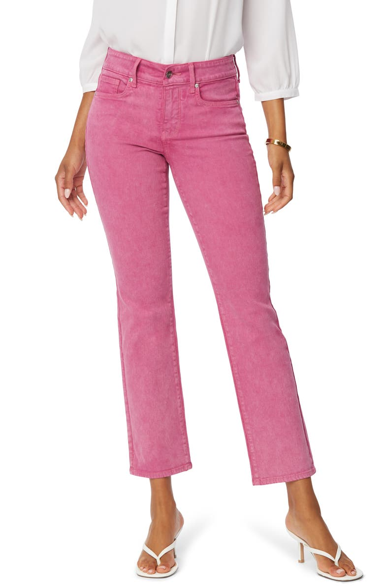 NYDJ Marilyn Ankle Straight Leg Jeans, Main, color, MARISOL MAGENTA