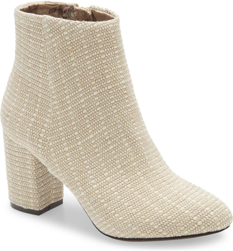 BAND OF GYPSIES Andrea Bootie, Main, color, NATURAL JUTE FABRIC
