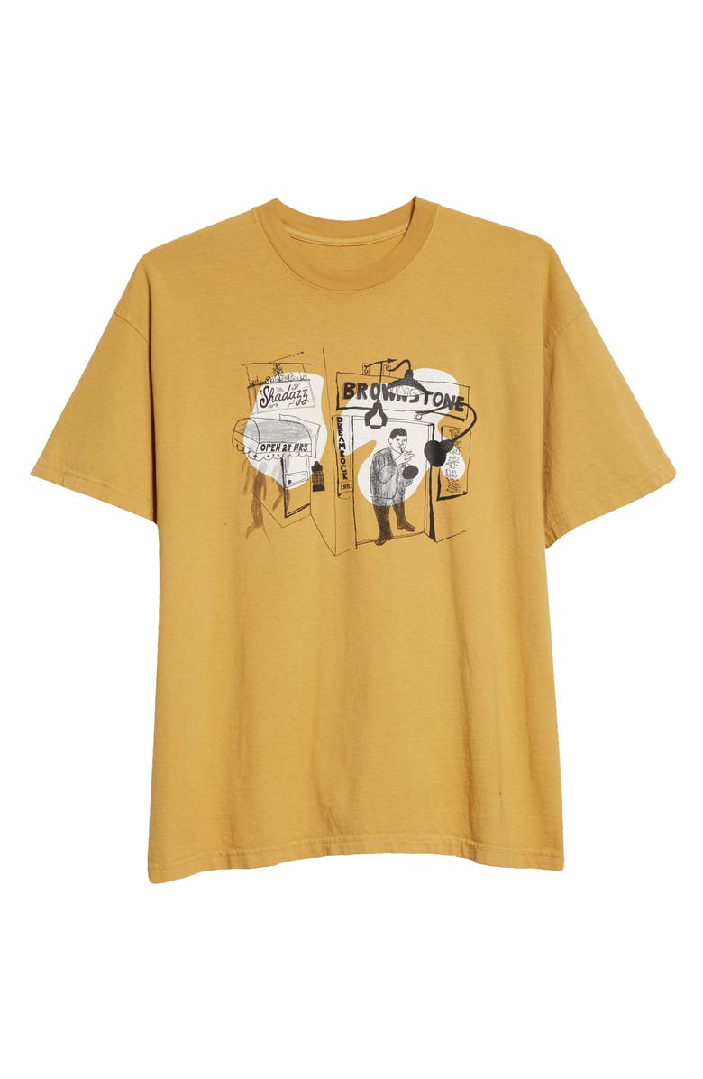 BROWNSTONE Shadazz Print Graphic Tee, Main, color, 200