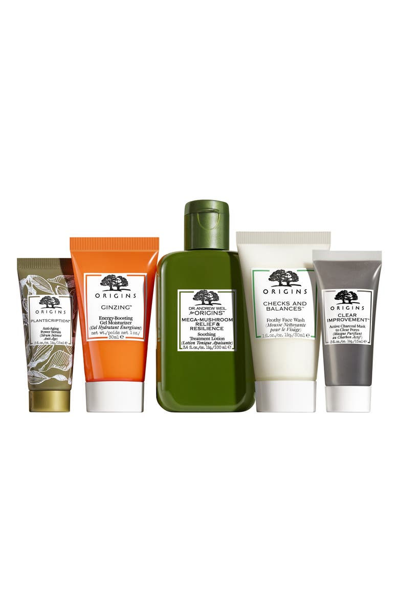 ORIGINS Best Sellers Best Skin Set, Main, color, NO COLOR